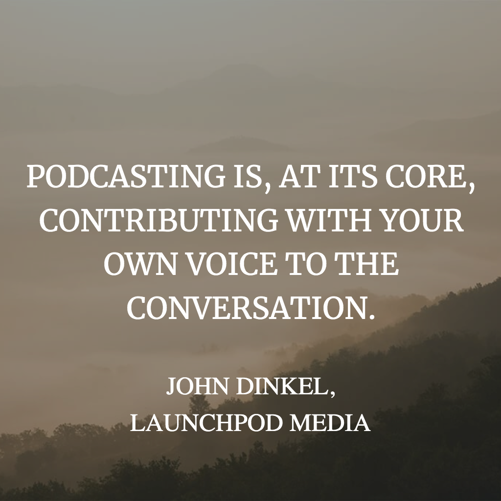 podcasting quote for instagram